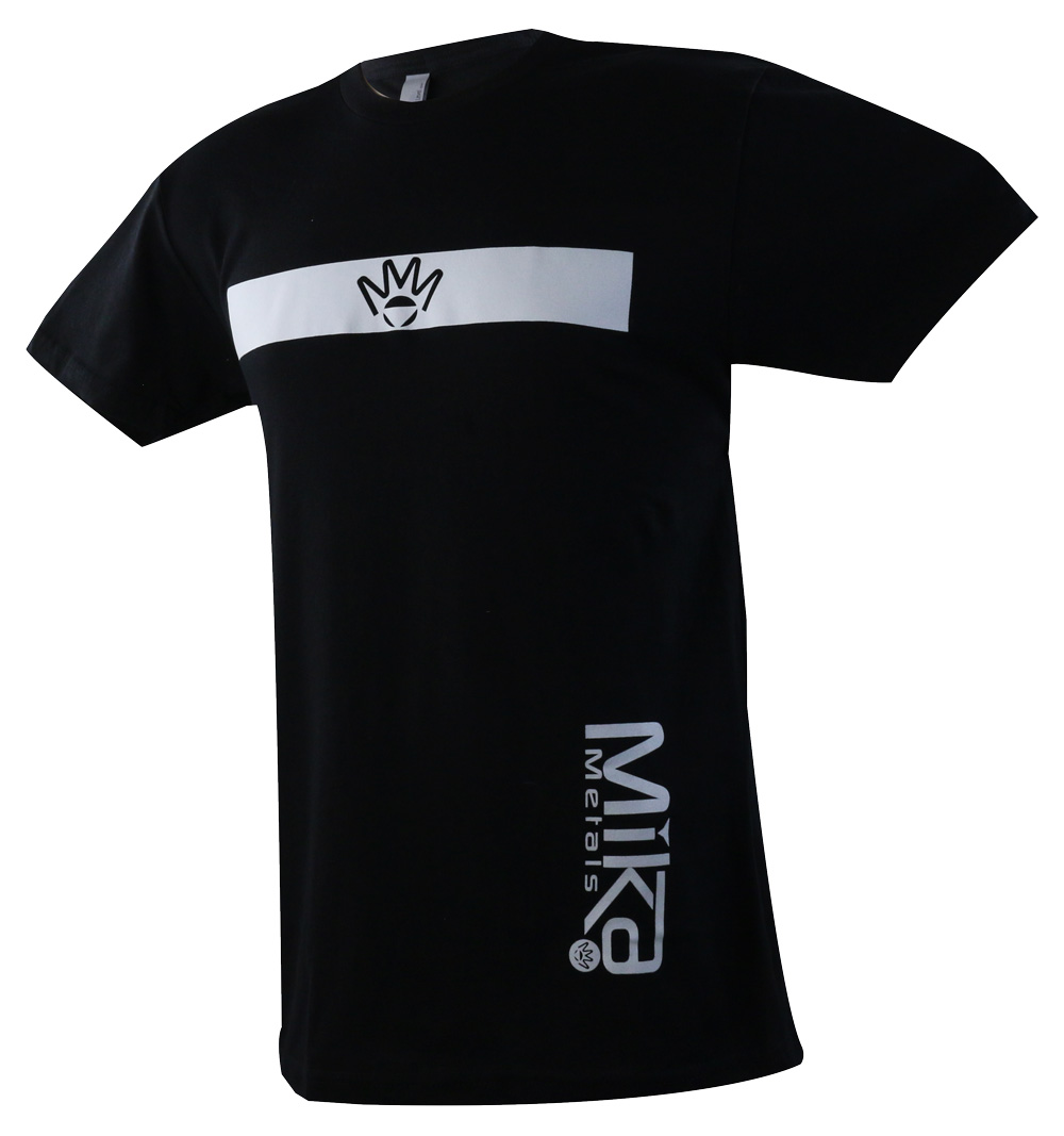 Mika Metals stripe T