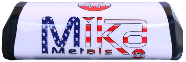 Mika Metals Raw Series Bar Pad White