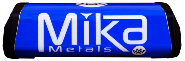 Mika Metals Raw Series Bar Pad blue