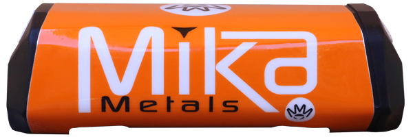 Mika Metals Raw Series Bar Pad Orange