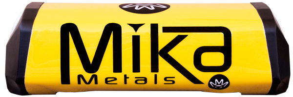 Mika Metals Raw Series Bar Pad Yellow